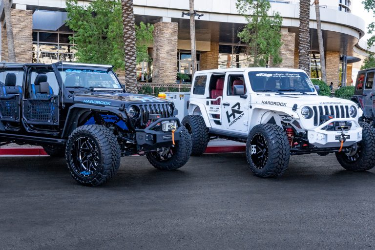 H500 Affliction H501 Bones Xposed Series Jeep JLs SEMA 2018 Hardrock Offroad