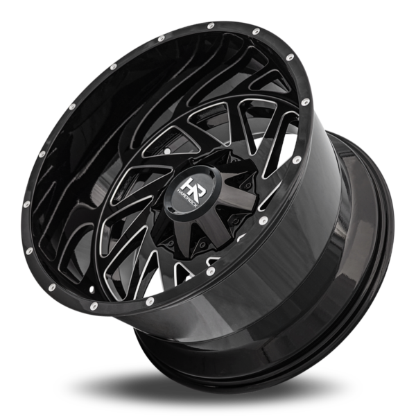 Hardrock H704 Crusher Gloss Black Milled