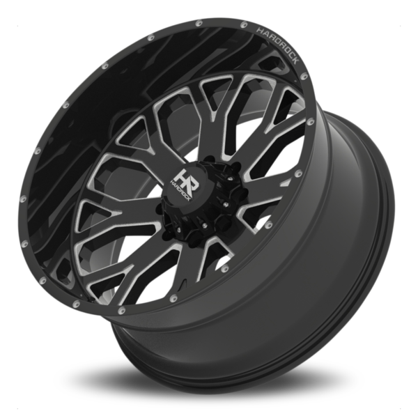 Hardrock H504 Slammer – Gloss Black Milled