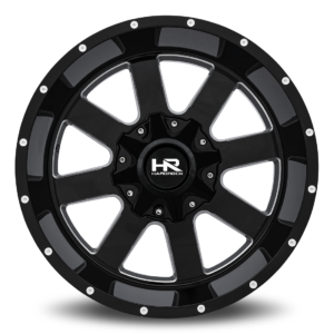 Hardrock H706 Black Milled Windows
