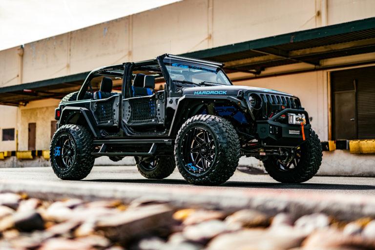 H501 Bones Hardrock Offroad 22×12 Jeep Wrangler JL