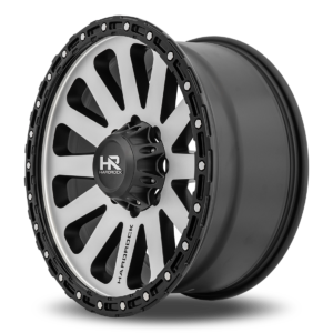 Hardrock Offroad H102 Matte Black Machine Face 20x9 - 8Lug