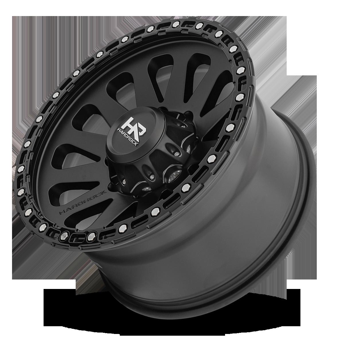 Hardrock Offroad H102 Matte Black 17x9 - 8Lug