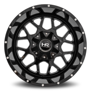 Hardrock Offroad H705 20x12 Gloss Black w/ Dimples