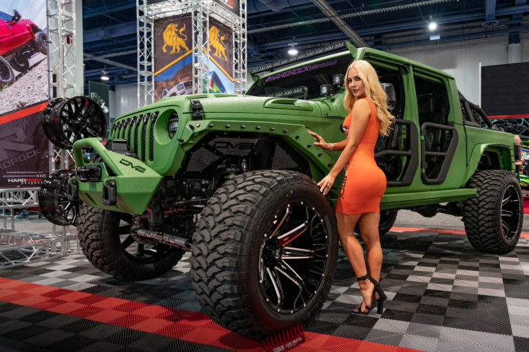 SEMA 2019 Hardrock Offroad Wheels Dynamic Wheel Group Jeep Gladiator