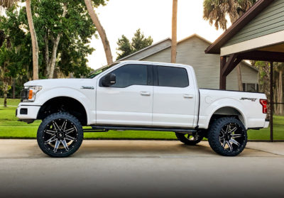 H502 PainKiller 24x14 Hardrock Offroad Wheels Ford F-150