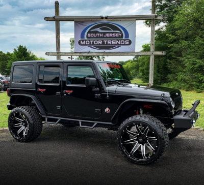 H502 PainKiller 24x14 Hardrock Offroad Wheels Jeep Wrangler