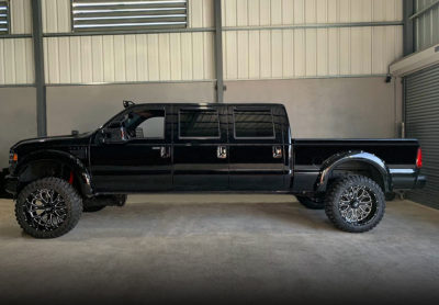 H504 Slammers 24x12 Hardrock-Offroad Wheels Ford 6door Truck