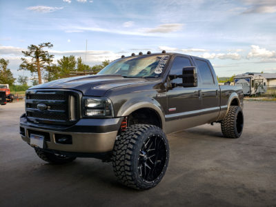 H700 Affliction 24x14 Hardrock Offroad Wheels Ford F250 Lariat Super Duty