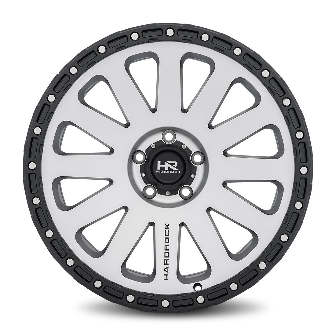 Hardrock Offroad Wheels H102 - Black Machine Face - 20x9