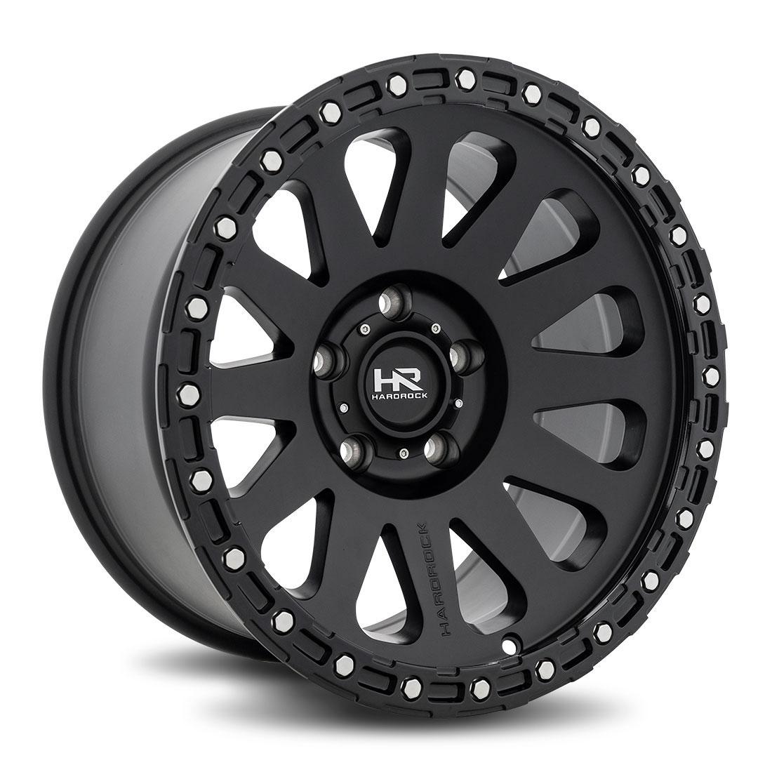 Hardrock Offroad Wheels H102 - Matte Black - 17x9