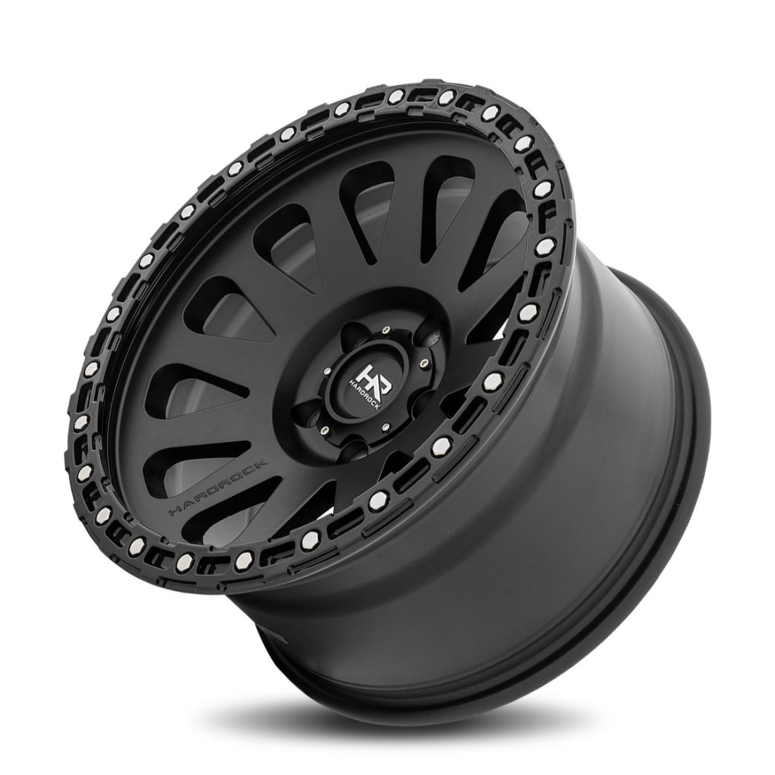 Hardrock Offroad H102 17x9 Matte Black-Black B/L