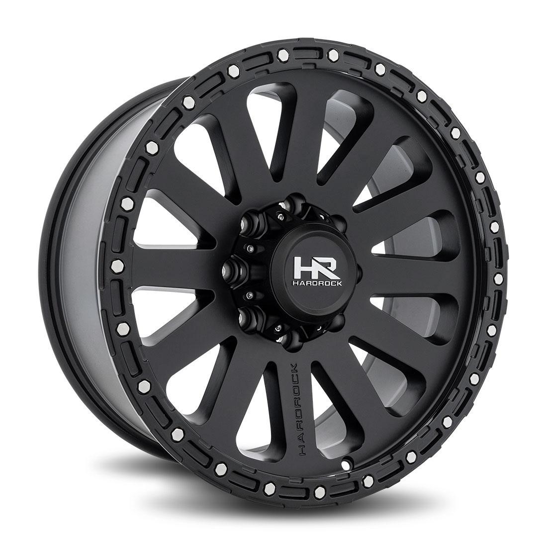 Hardrock Offroad Wheels H102 - Matte Black - 20x9