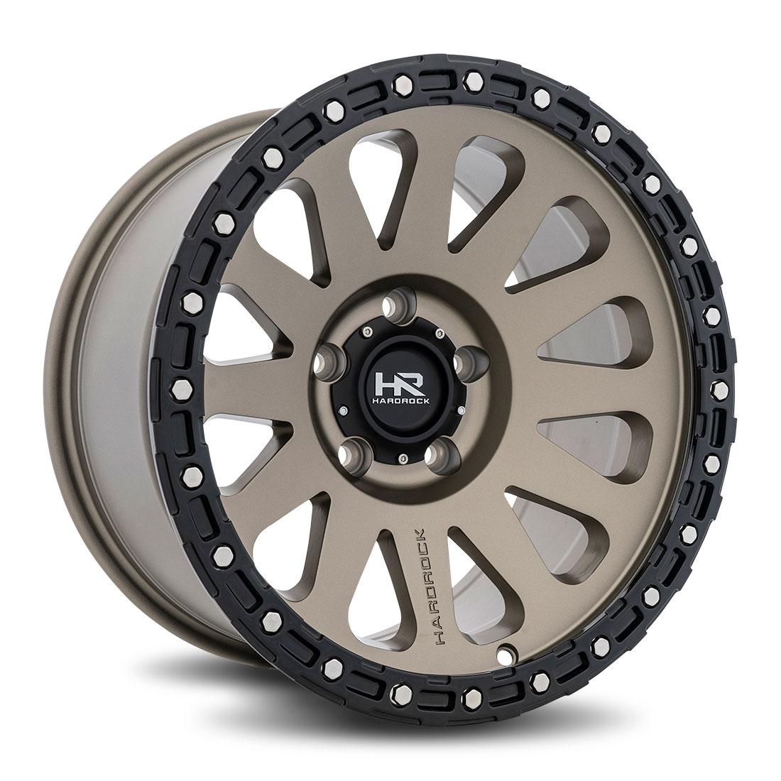 Hardrock Offroad Wheels H102 - Matte Bronze - 17x9