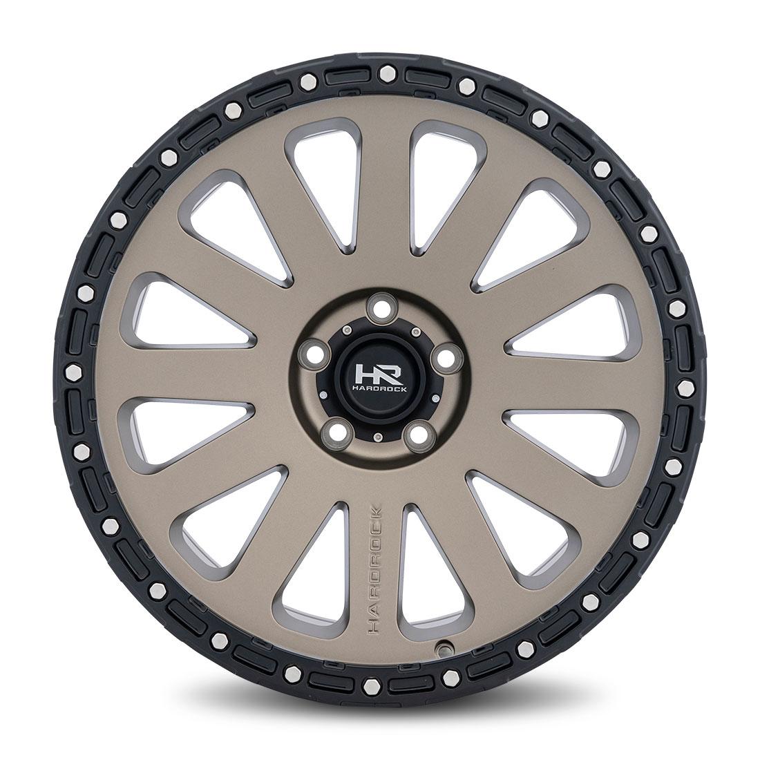 Hardrock Offroad Wheels H102 - Matte Bronze - 20x9