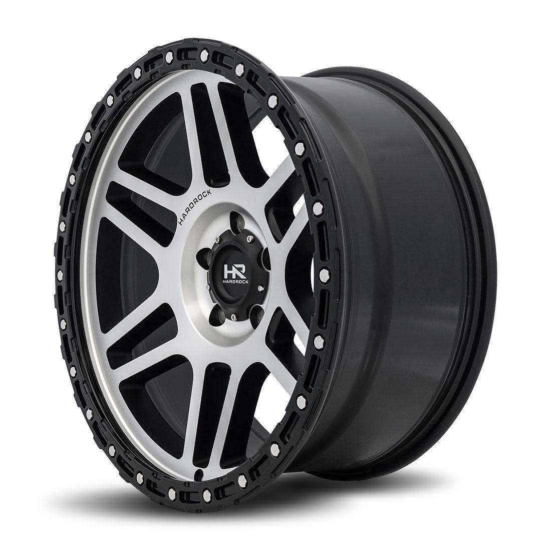 Hardrock Offroad Wheels H103 - Black Machine Face - 20x9