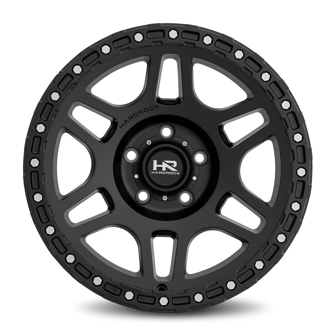 Hardrock Offroad Wheels H103 - Matte Black - 17x9