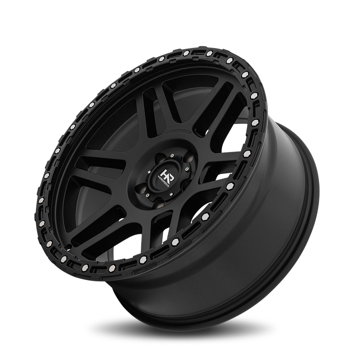 Hardrock Offroad H103 20x9 Matte Black-Black B/L