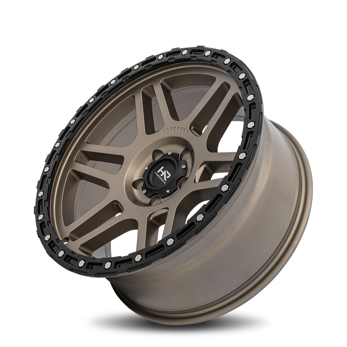 Hardrock Offroad H103 20x9 Matte Bronze-Black B/L