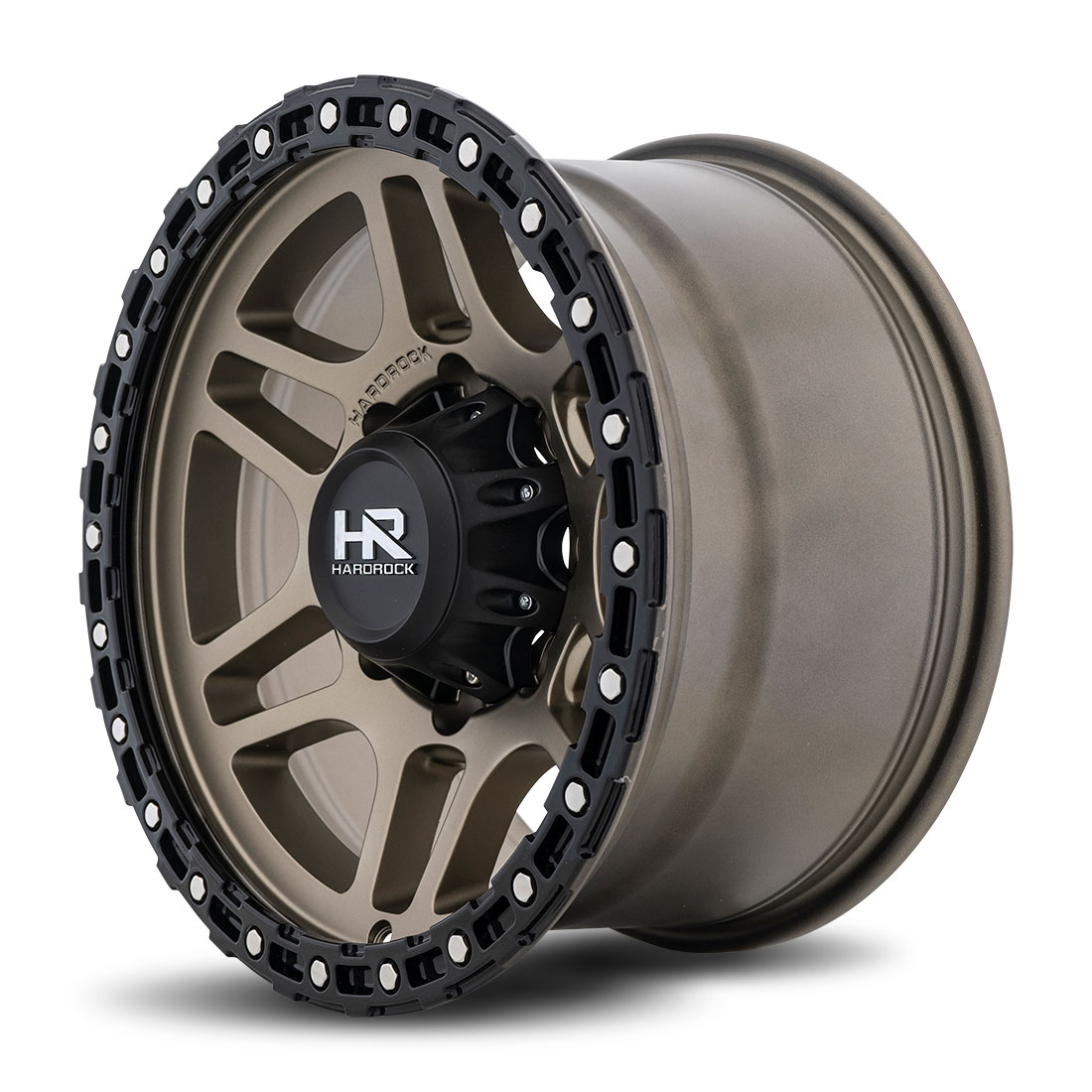 Hardrock Offroad Wheels H103 - Matte Bronze - 17x9
