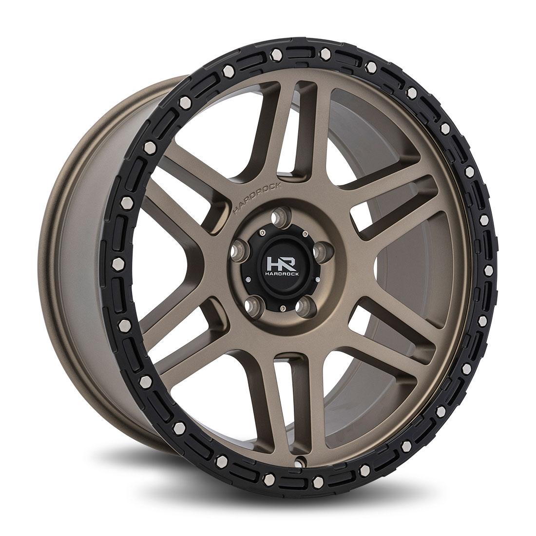 Hardrock Offroad Wheels H103 - Matte Bronze - 20x9