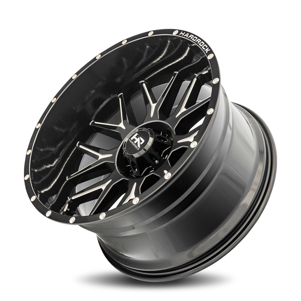 Hardrock Offroad H500 26x14 Gloss Black Milled