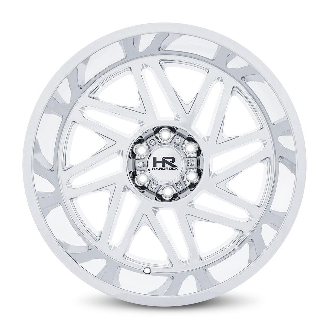Hardrock Offroad Wheels H501 Bones-Xposed - Chrome - 22x12