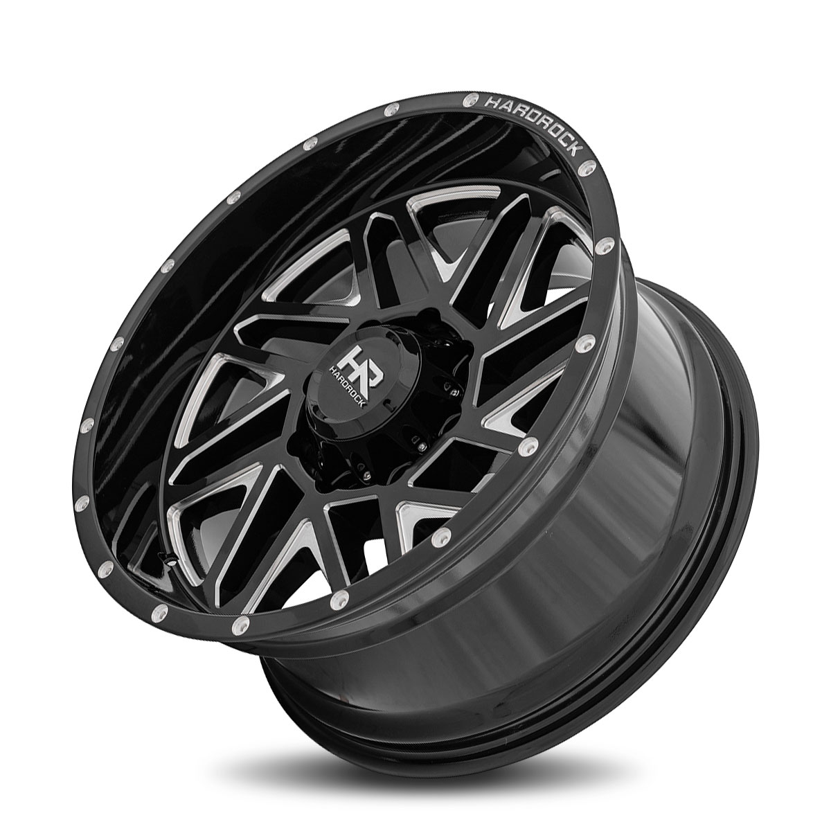 Hardrock Offroad H501 20x10 Gloss Black Milled