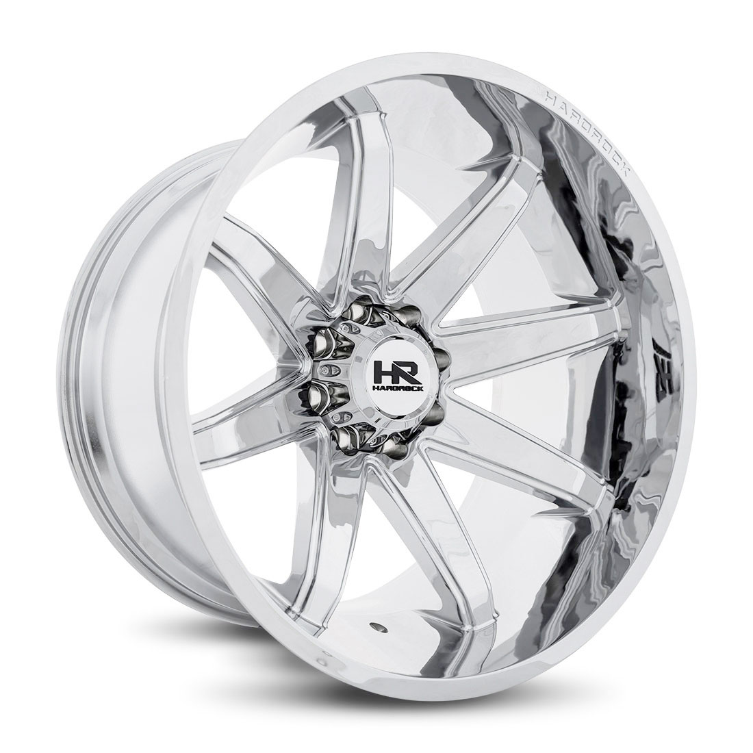 Hardrock Offroad Wheels H502 Painkiller-Xposed - Chrome - 24x14