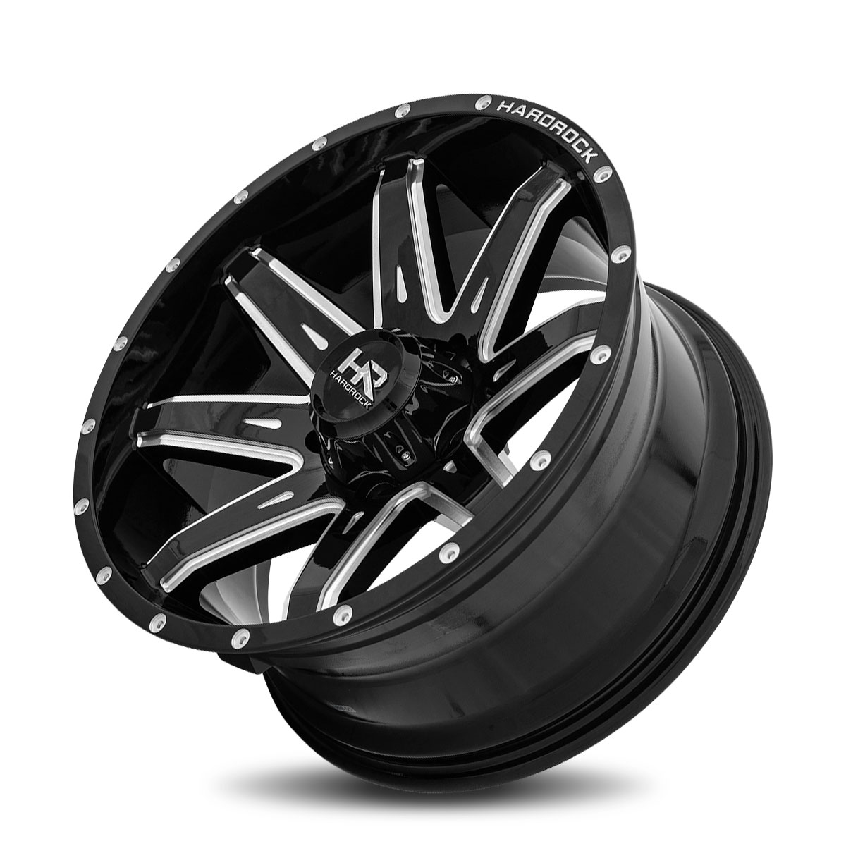 Hardrock Offroad H502 20x10 Gloss Black Milled