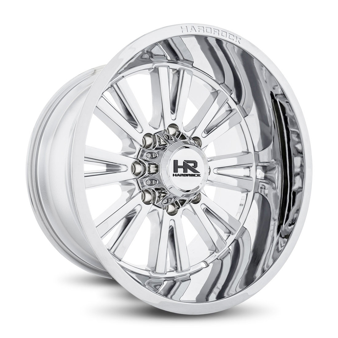 Hardrock Offroad Wheels H503 Spine-Xposed - Chrome - 22x12