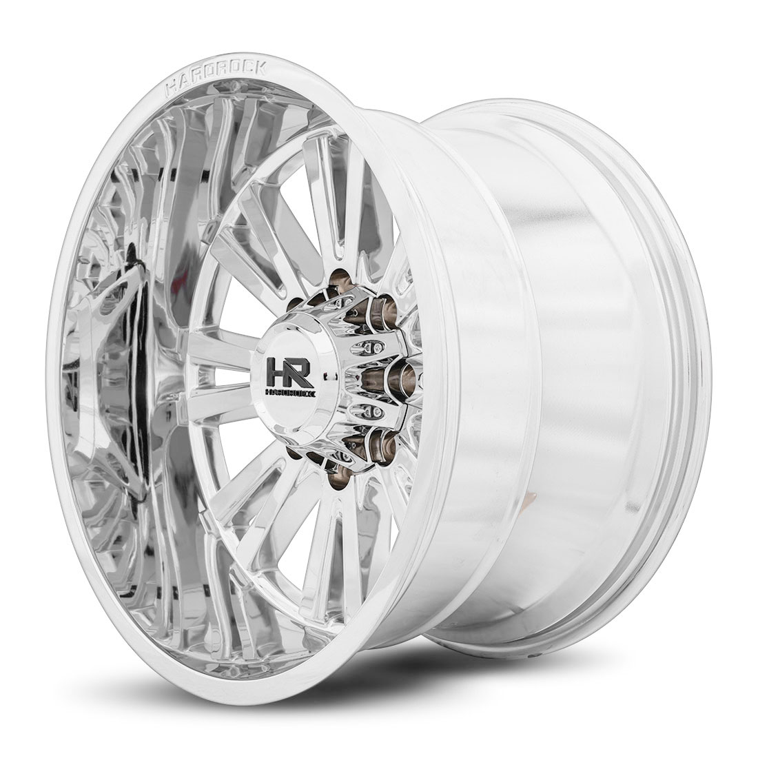 Hardrock Offroad Wheels H503 Spine-Xposed - Chrome - 20x12