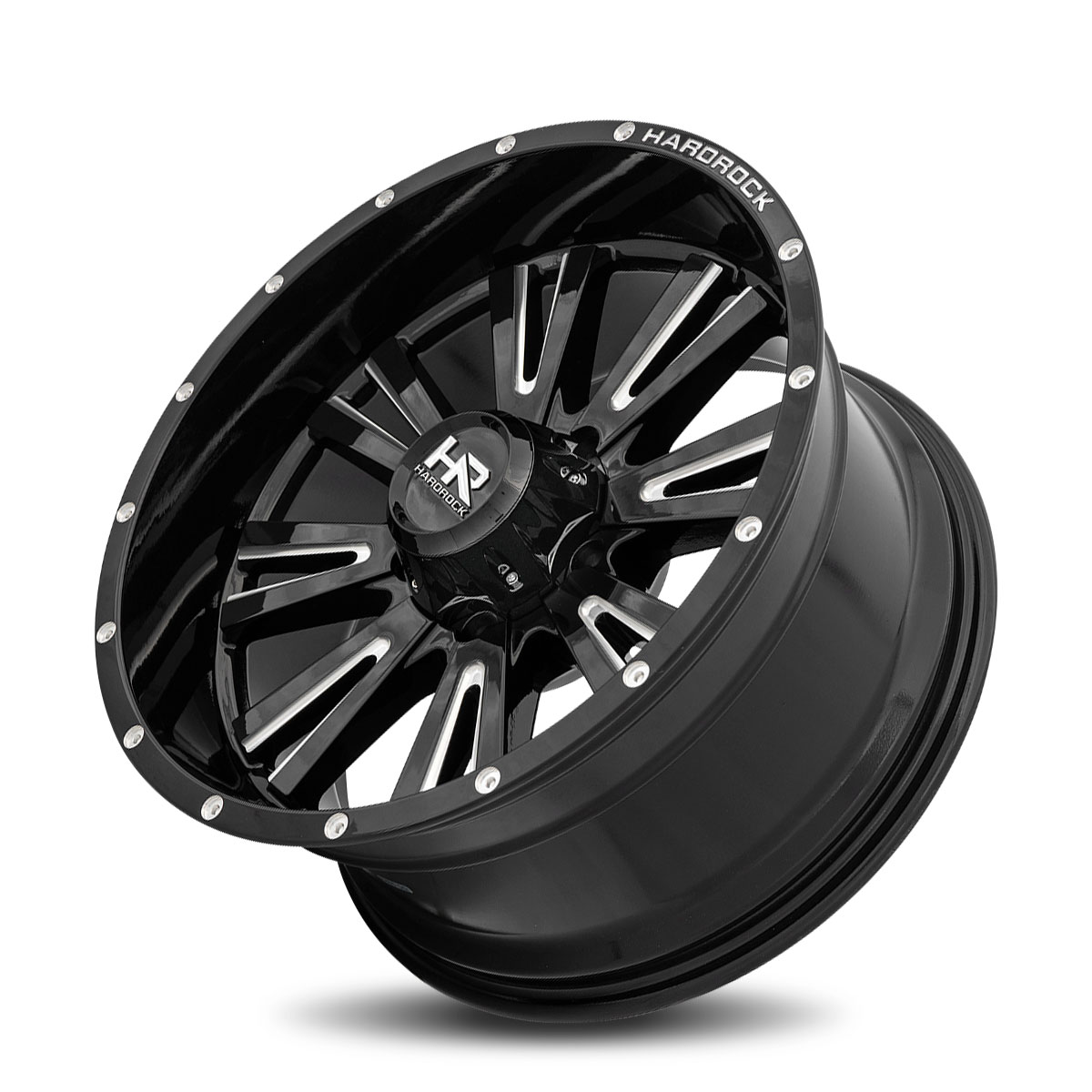 Hardrock Offroad H503 20x10 Gloss Black Milled