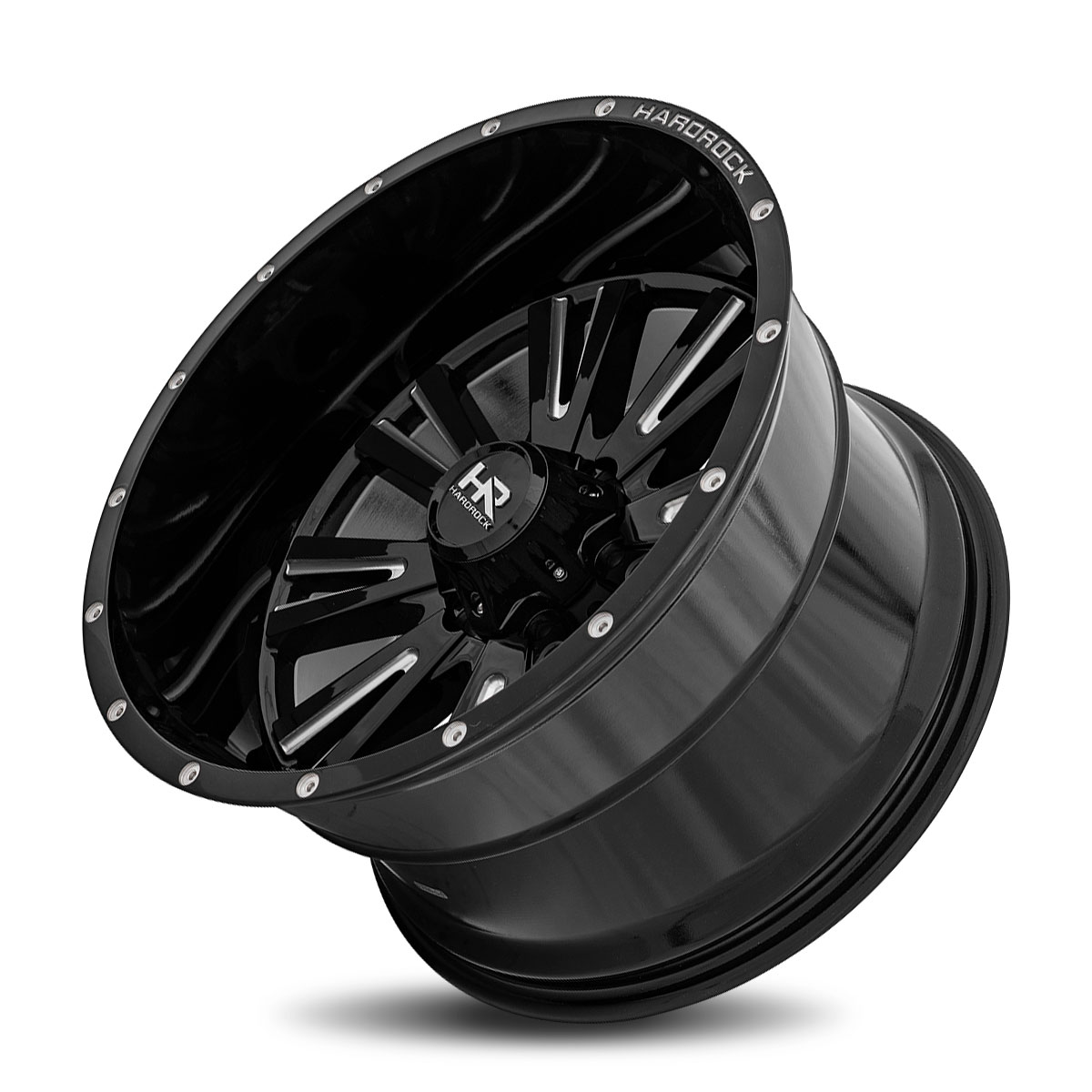 Hardrock Offroad H503 20x12 Gloss Black Milled