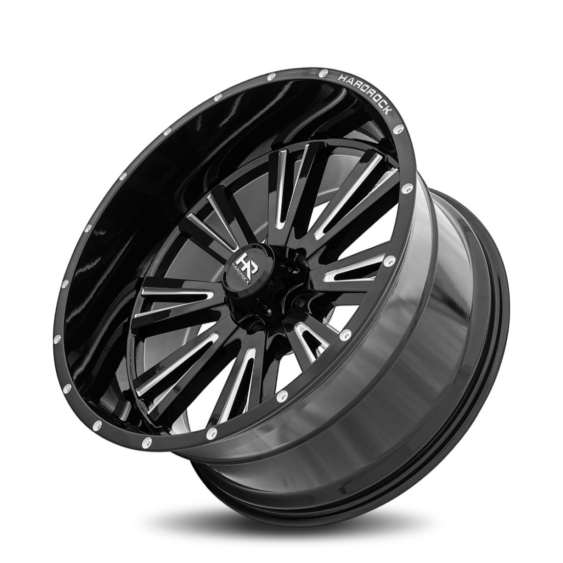 Hardrock Offroad H503 26x14 Gloss Black Milled