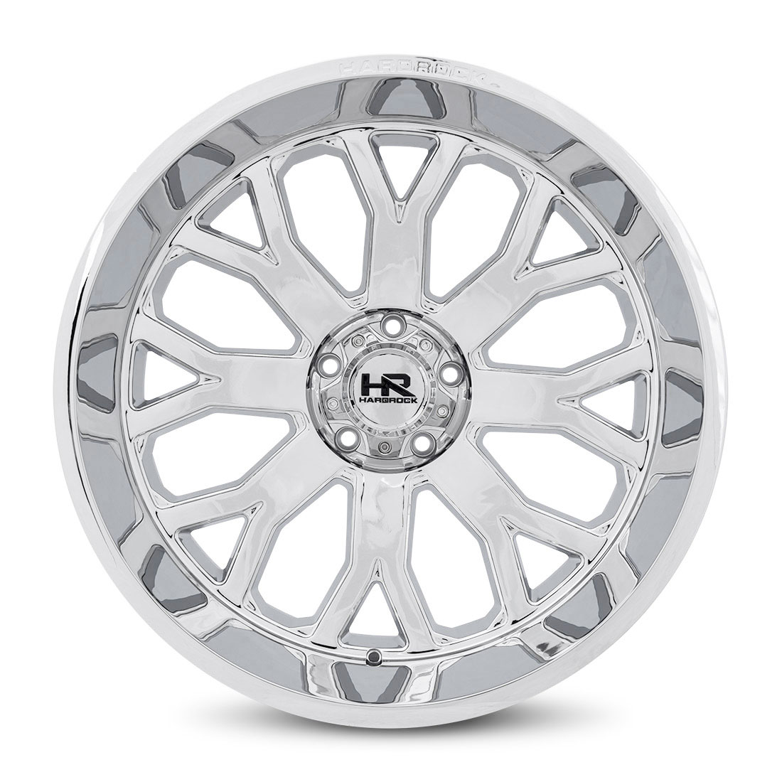 Hardrock Offroad Wheels H504 Slammer-Xposed - Chrome - 24x12