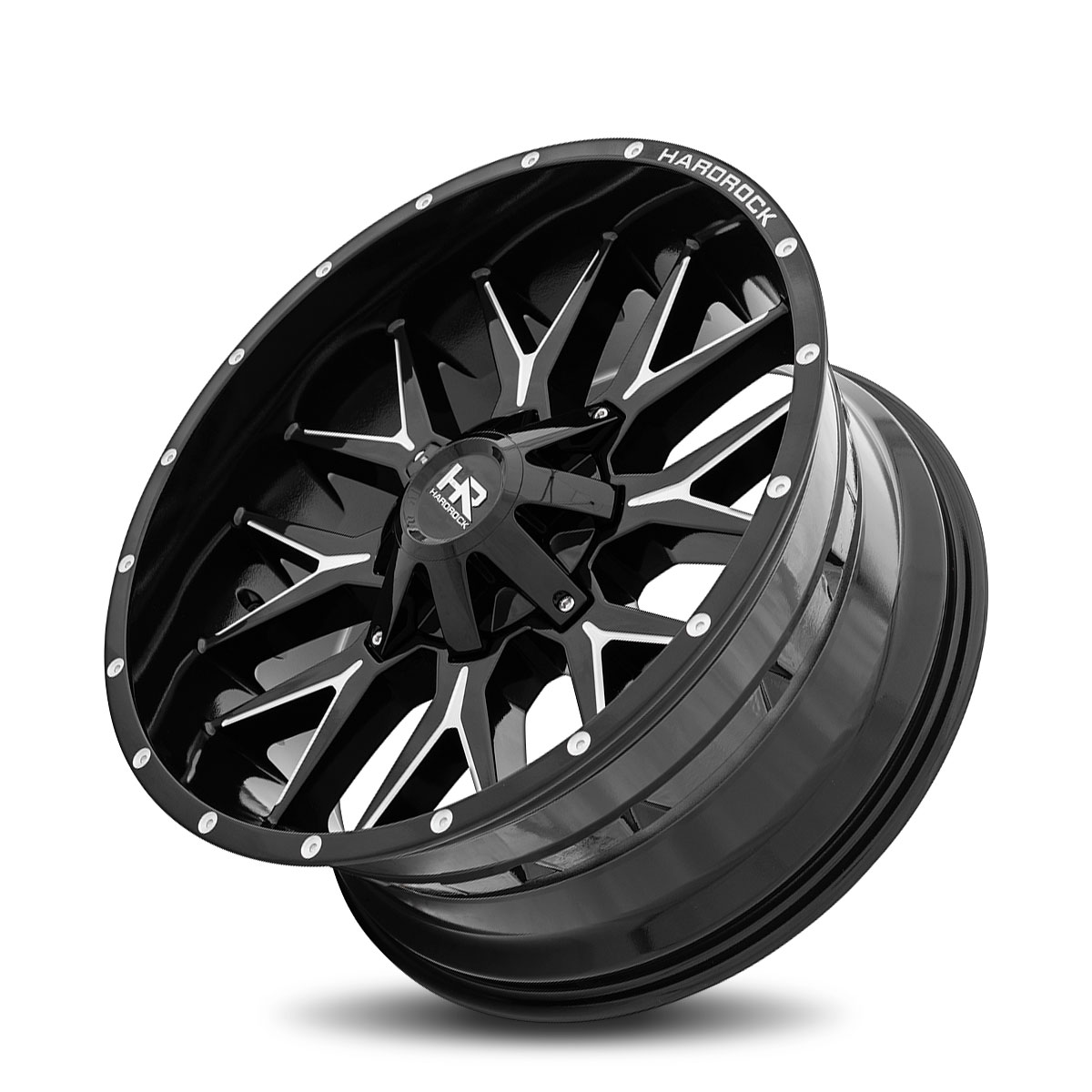 Hardrock Offroad H700 22x10 Gloss Black Milled