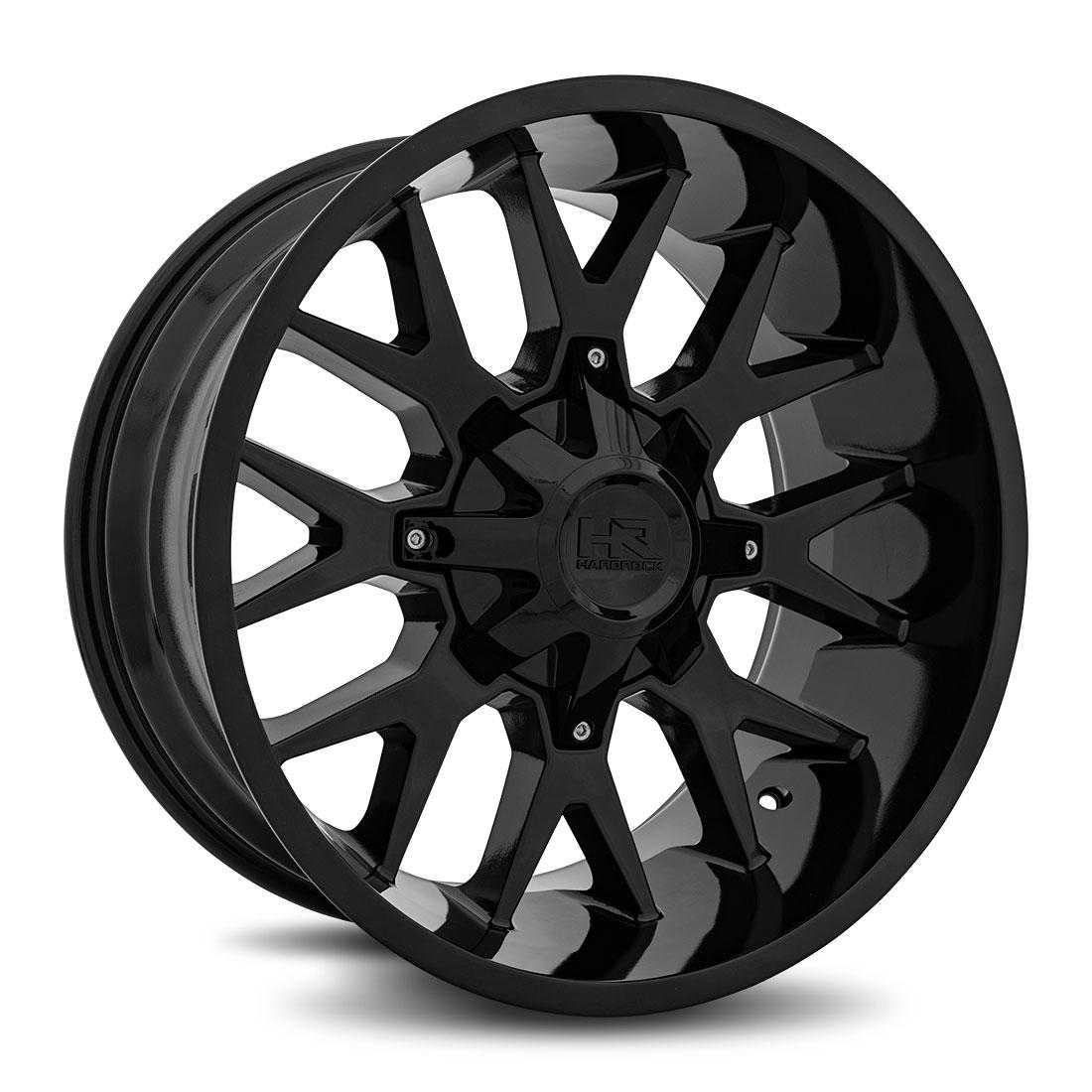 Hardrock Offroad Wheels H700 Affliction - Gloss Black - 20x10