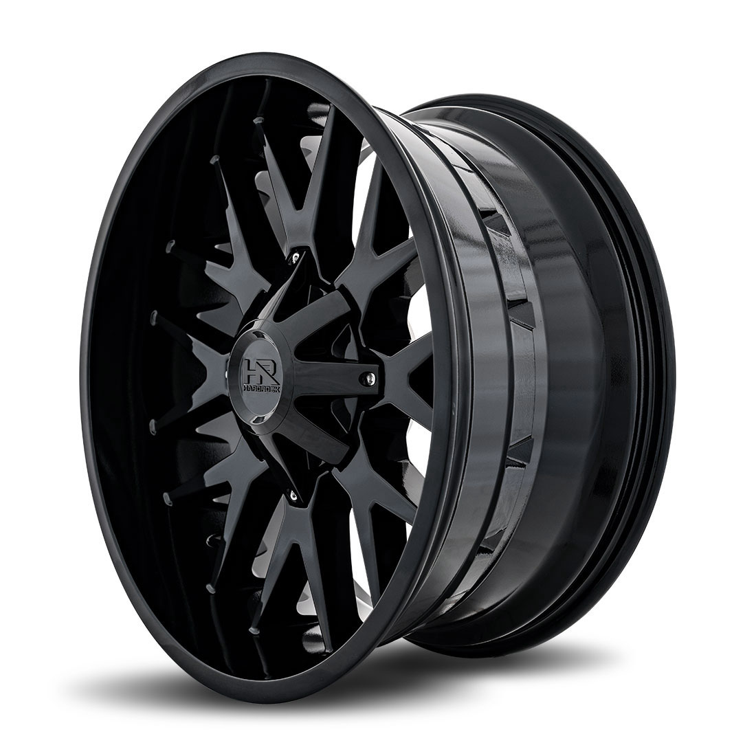 Hardrock Offroad Wheels H700 Affliction - Gloss Black - 22x10