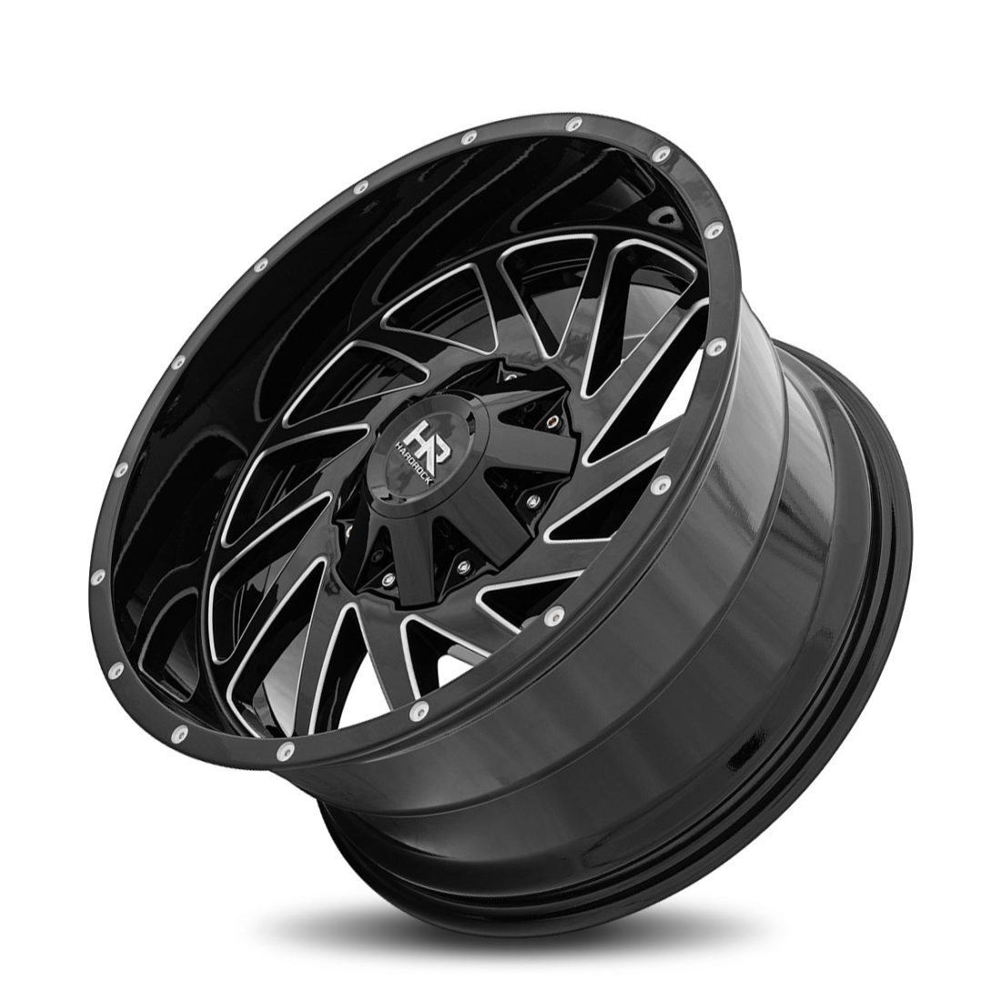 Hardrock Offroad H704 20x10 Gloss Black Milled