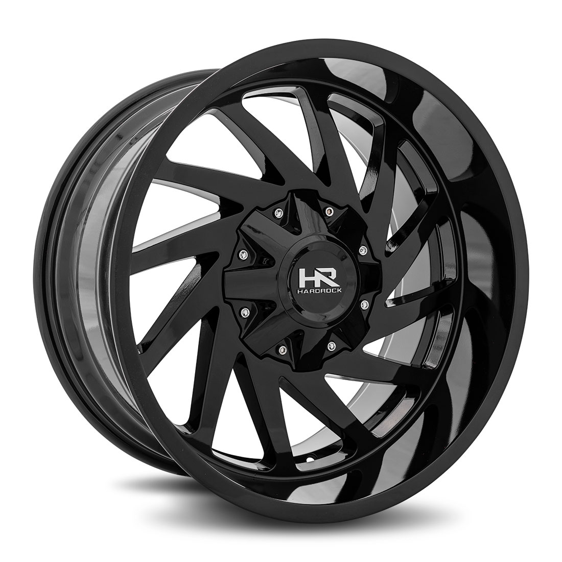 Hardrock Offroad Wheels H704 Crusher - Gloss Black - 20x10