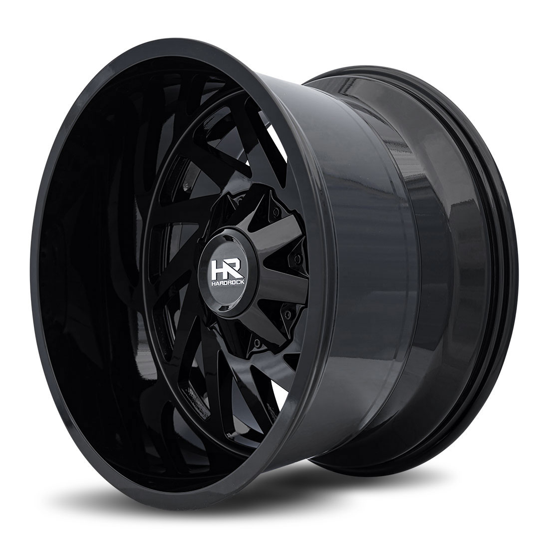 Hardrock Offroad Wheels H704 Crusher - Gloss Black - 20x12