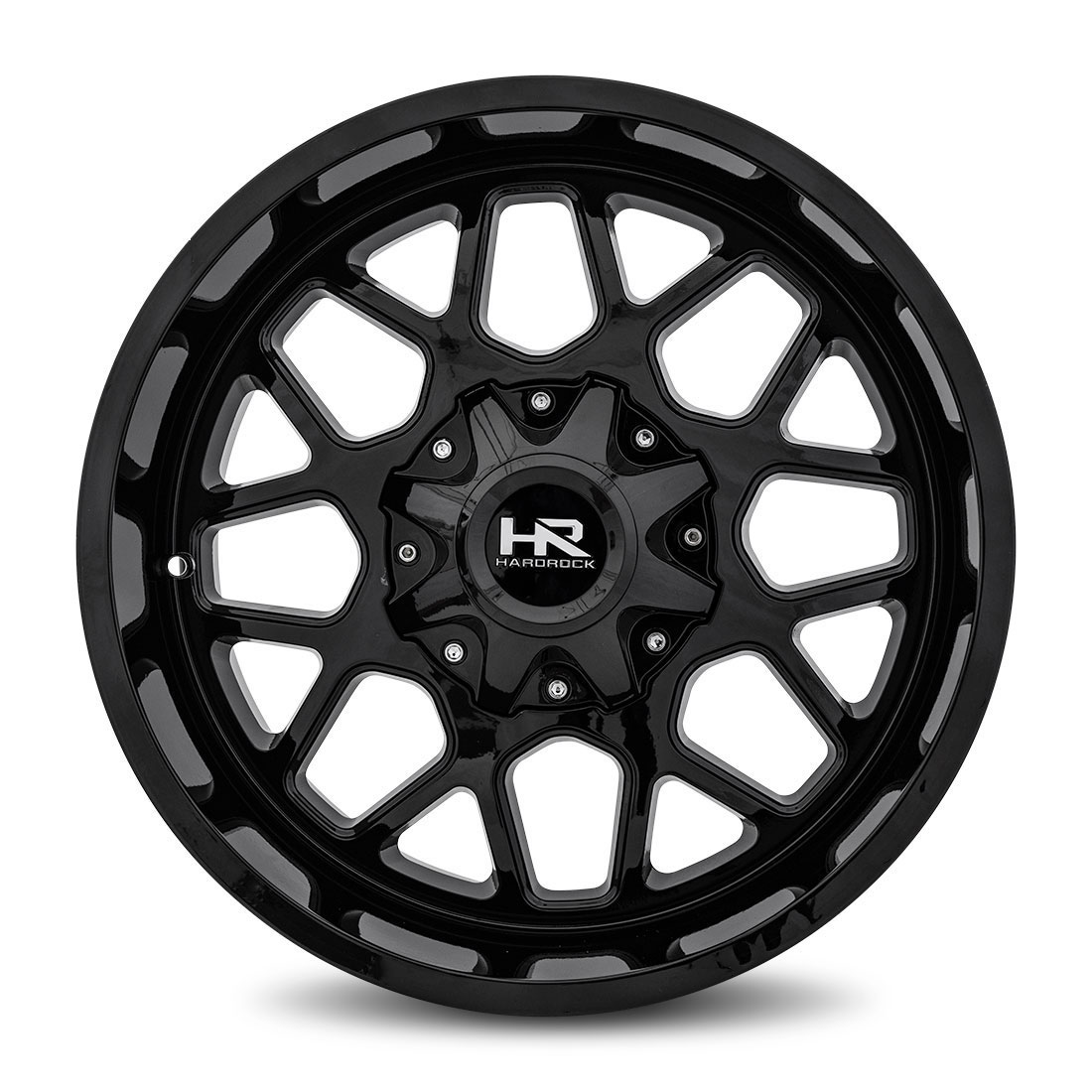 Hardrock Offroad Wheels H705 Gunner - Gloss Black - 20x10