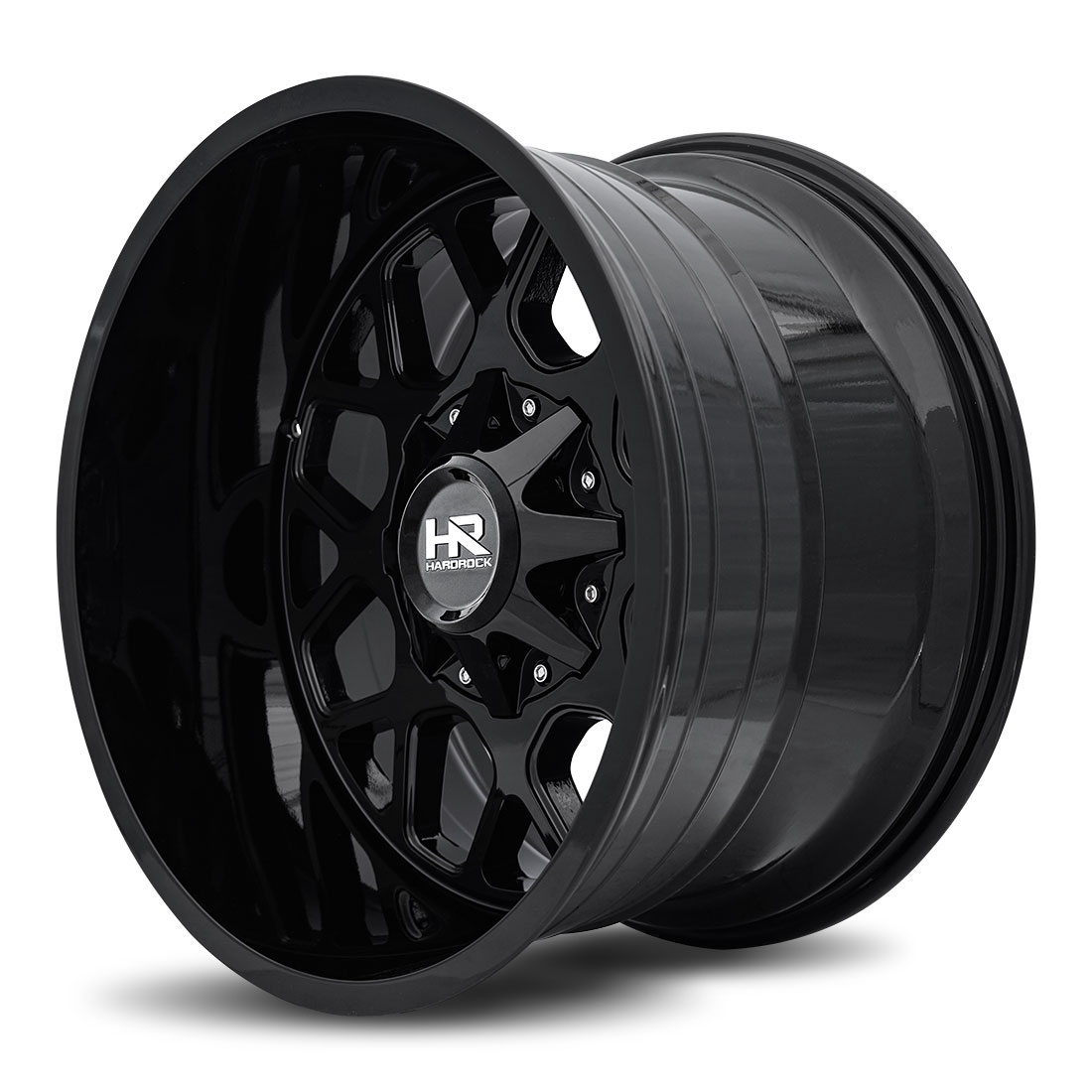 Hardrock Offroad Wheels H705 Gunner - Gloss Black - 20x12