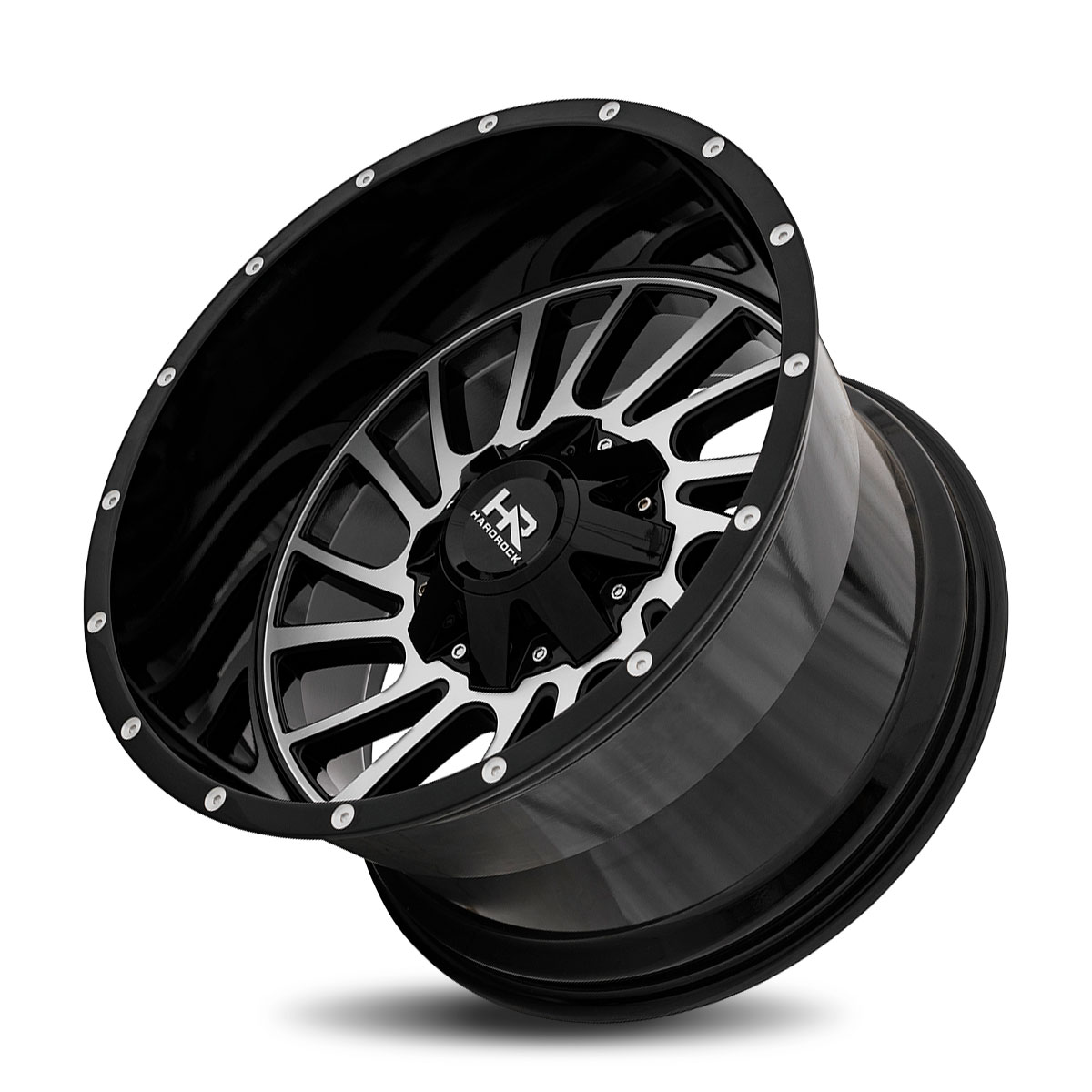 Hardrock Offroad H708 22x10 Gloss Black Milled