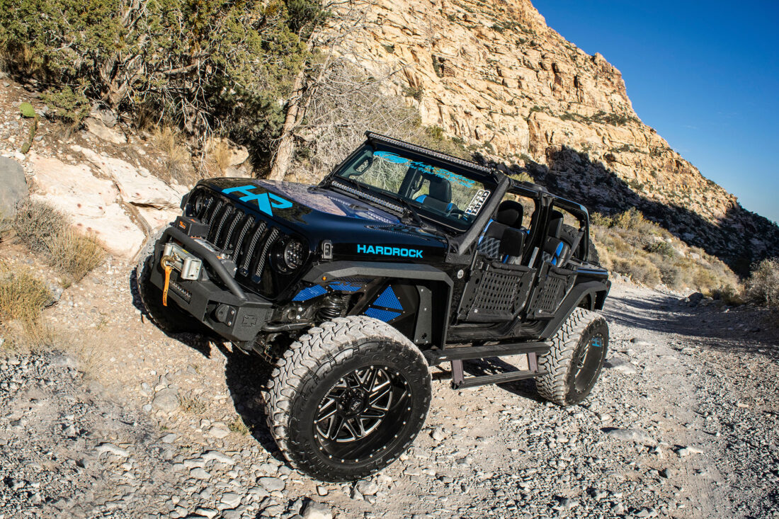 Hardrock H501 Bones - Black Jeep Wrangler - SEMA Build