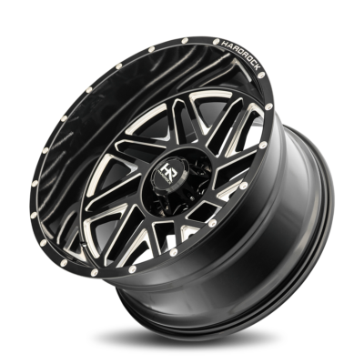 Hardrock Offroad H501 24x14 Gloss Black Milled