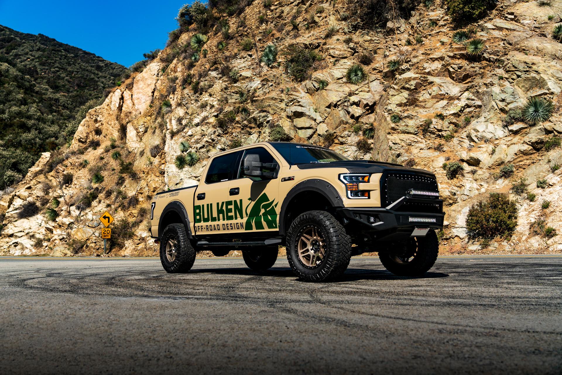 Hardrock Offroad  H103 20x9 - SEMA Build for Bulken Offroad - Ford F150
