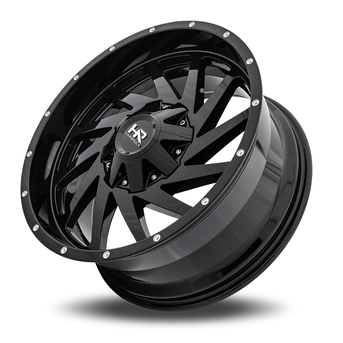 Hardrock Offroad H704 20x9 Gloss Black Dimples