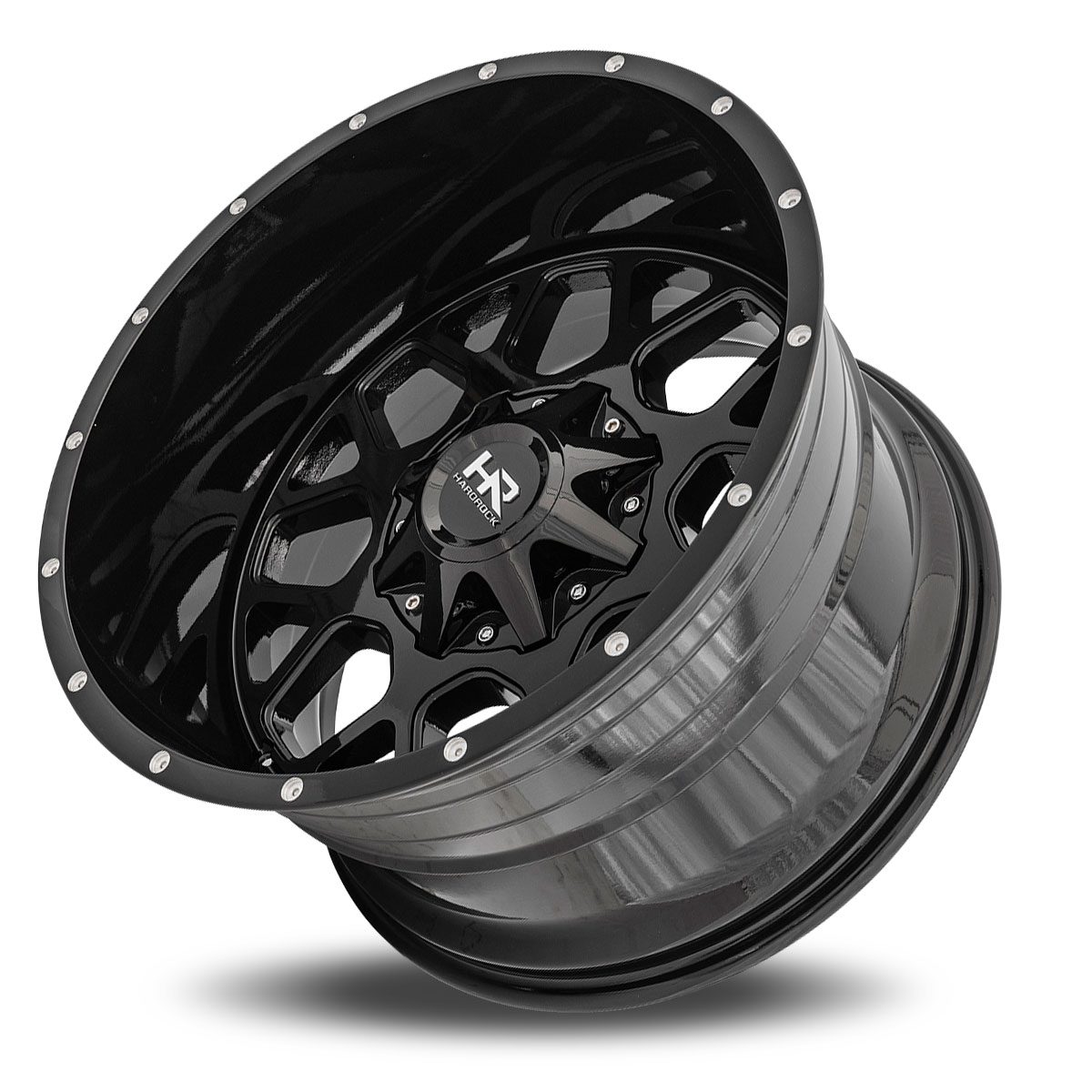 Hardrock Offroad H705 20x12 Gloss Black Dimples